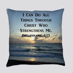PHIL 4:13 VERSE Everyday Pillow