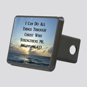 PHIL 4:13 VERSE Rectangular Hitch Cover