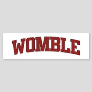 WOMBLE Design Bumper Sticker