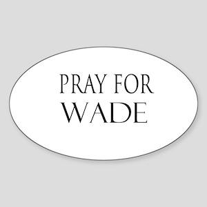 WADE Oval Sticker