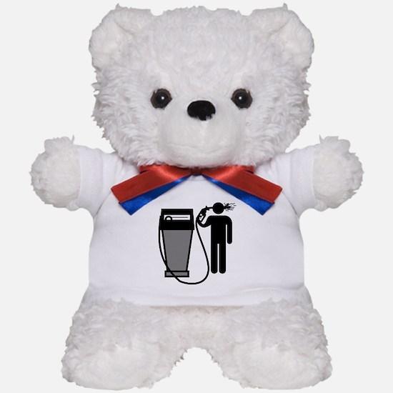Gas Pump Suicide Teddy Bear