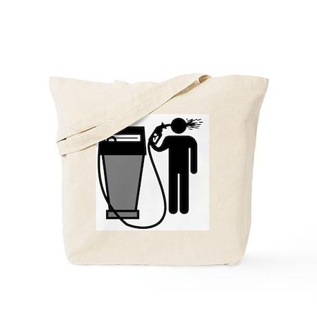 Gas Pump Suicide Tote Bag