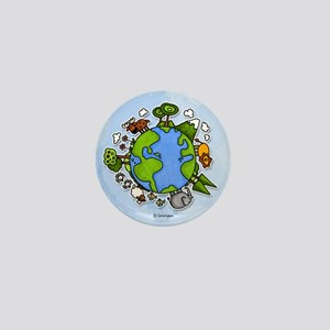 Animal World Mini Button