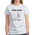 Funny Rhode Island Motto Women's T-Shirt