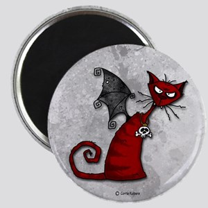 Doom Kitty Magnet