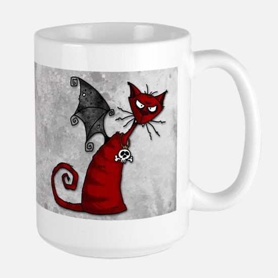 Doom Kitty Large Mug