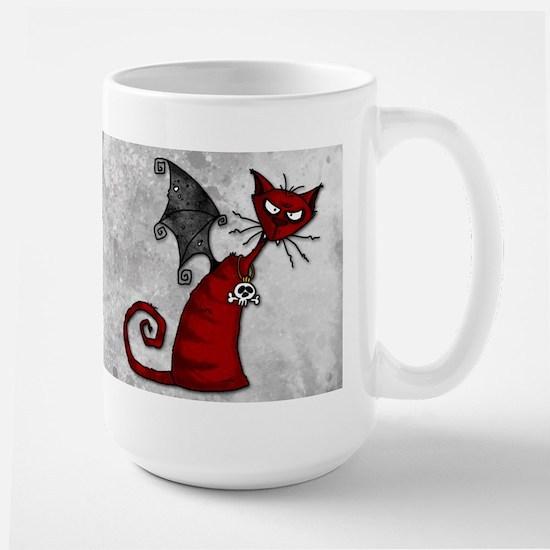 Doom Kitty Large Mug