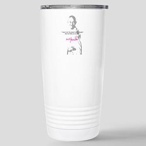 Gandhi Stainless Steel Travel Mug