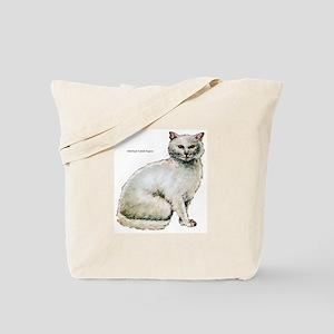 Turkish Angora Cat Tote Bag