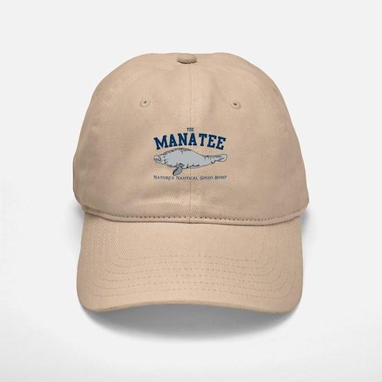 Manatee Baseball Baseball Cap