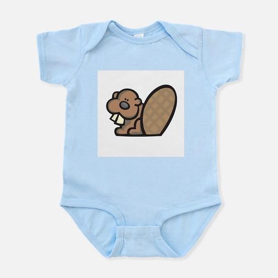 Cute Little Beaver Infant Creeper