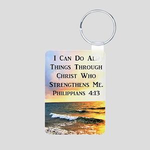 PHIL 4:13 VERSE Aluminum Photo Keychain