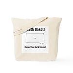 Funny South Dakota Motto Tote Bag