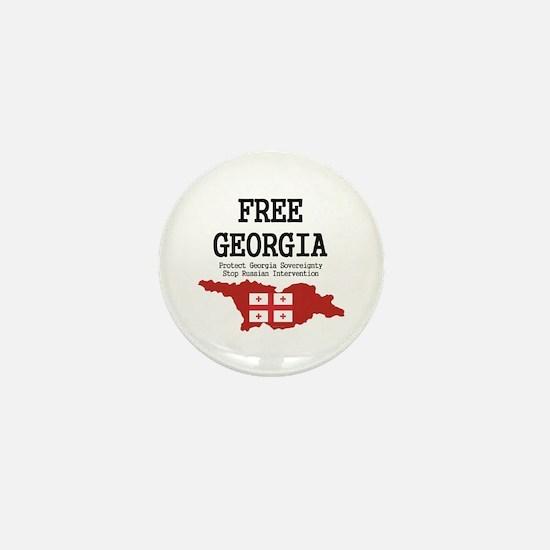Free Georgia Mini Button