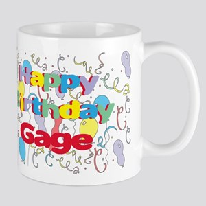 Happy Birthday Gage Mug