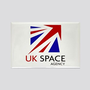 United Kingdom Space Agency Rectangle Magnet