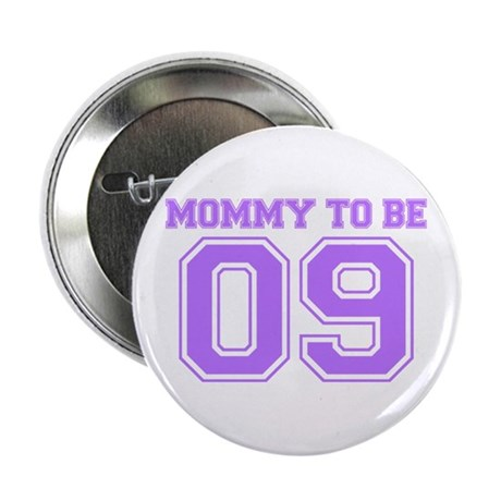 "Mommy To Be 09 (Purple) 2.25"" Button"