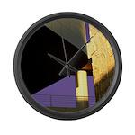 Form v. Color Large Wall Clock