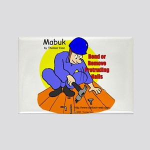Construction Safety Rectangle Magnet