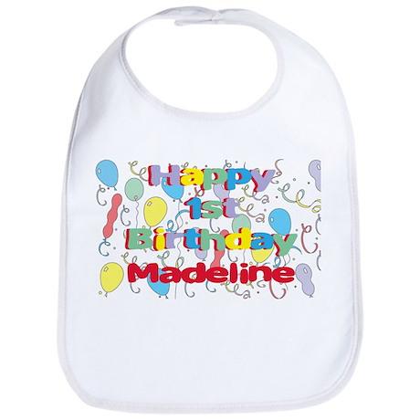 Madeline's 1st Birthday Bib