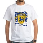 Leleu Family Crest White T-Shirt