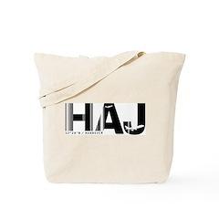 Hannover Airport Code Germany HAJ Tote Bag