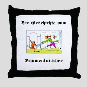 Struwwelpeter - Daumenlutsche Throw Pillow