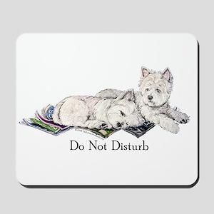 WestHighland White Terrier Da Mousepad