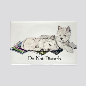 WestHighland White Terrier Da Rectangle Magnet