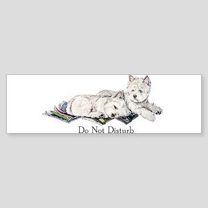 WestHighland White Terrier Da Bumper Sticker