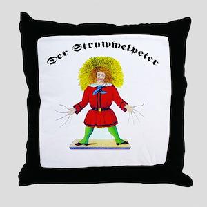 Der Struwwelpeter Throw Pillow
