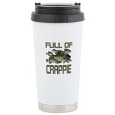 Full of Crappie Stainless Steel Travel Mug