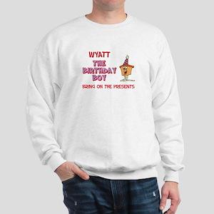 Wyatt - The Birthday Boy Sweatshirt