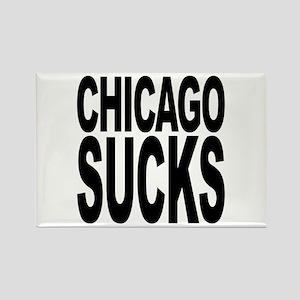 Chicago Sucks Rectangle Magnet