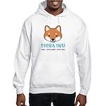 Shiba Inu Face Hooded Sweatshirt