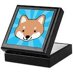 Shiba Inu Face Keepsake Box