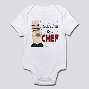 Daddy's Little Sous Chef Baby Infant Bodysuit
