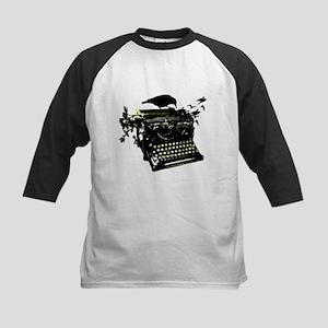 Typewriter Kids Baseball Jersey
