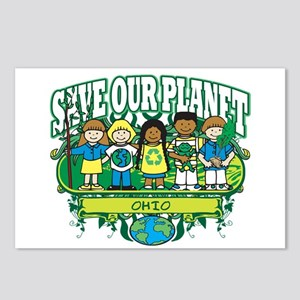 Earth Kids Ohio Postcards (Package of 8)