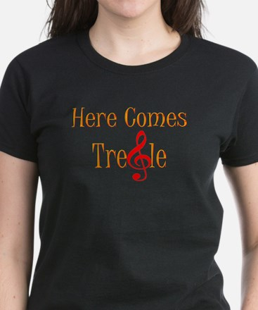 Here comes Treble Women's Dark T-Shirt