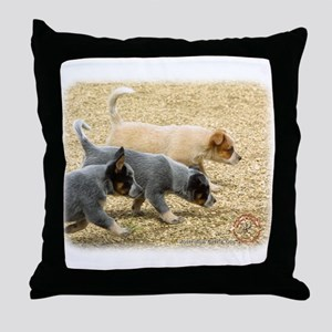 Australian Cattle Dog 8T57D-18 Throw Pillow