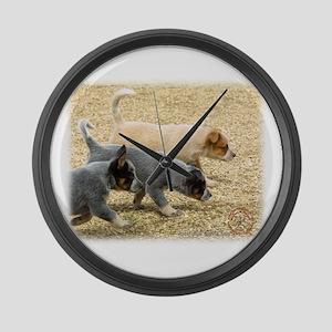 Australian Cattle Dog 8T57D-18 Large Wall Clock