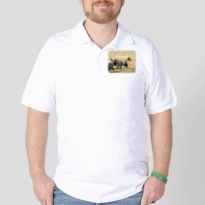 Australian Cattle Dog 8T57D-18 Golf Shirt