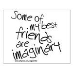 Imaginary Friends Small Poster