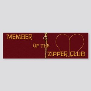 Zipper Club Bumper Sticker