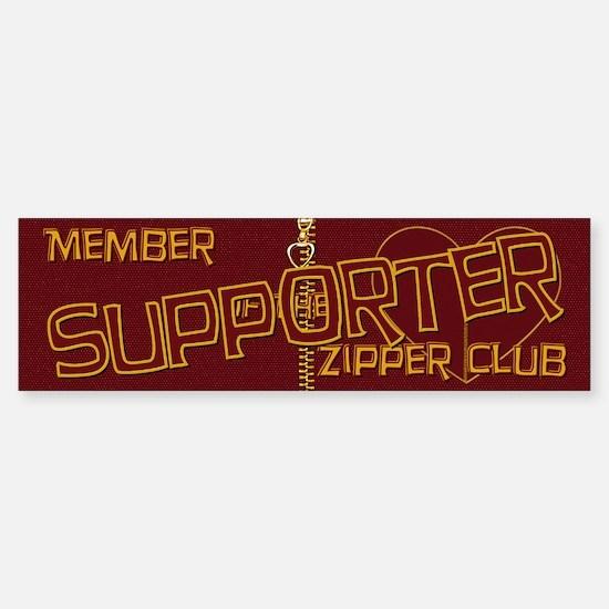Supporter Bumper Bumper Bumper Sticker