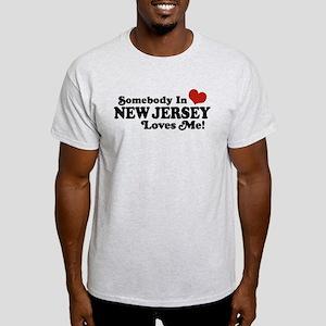 Somebody in New Jersey Loves Me Light T-Shirt