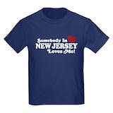 Jersey girl toddler Kids T-shirts (Dark)