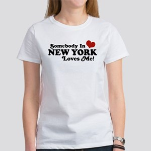 Somebody in New York Loves Me Women's T-Shirt