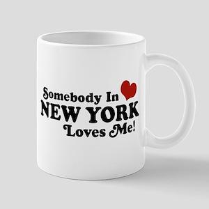 Somebody in New York Loves Me Mug